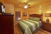 Cabin with King Size Bed
