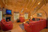 Luxury Cabin with Surround Sound and Recliners