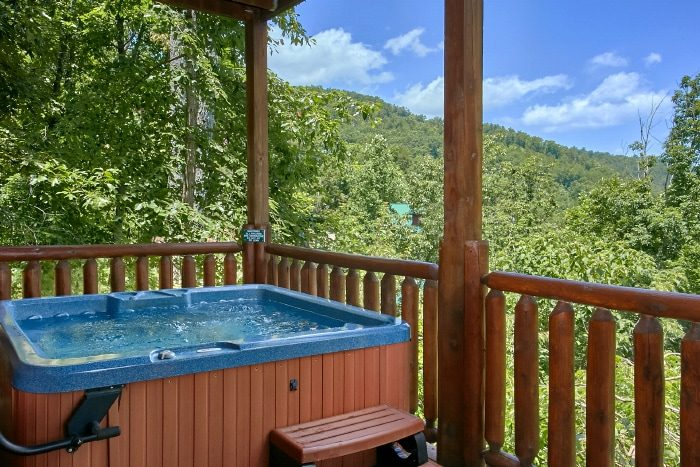 Luxury Cabin with Hot Tub and Mountain Views - Simply the Smokies