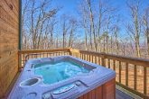 Luxury Honeymoon Cabin with Private Hot Tub