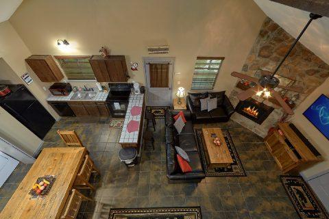 Large Open Floor Plan 2 Bedroom Cabin - Sleepy Hollow