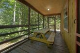 Covered Deck with Picnic Table