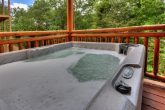 Hot Tub 4 Bedroom Cabin Sleeps 12