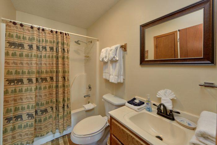3 bedroom cabin with Private master bathroom - Smokeys Dream Views