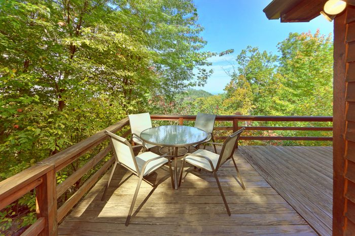 3 Bedroom cabin with picnic table and hot tub - Smokeys Dream Views