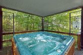 Private 3 Bedroom cabin with large hot tub