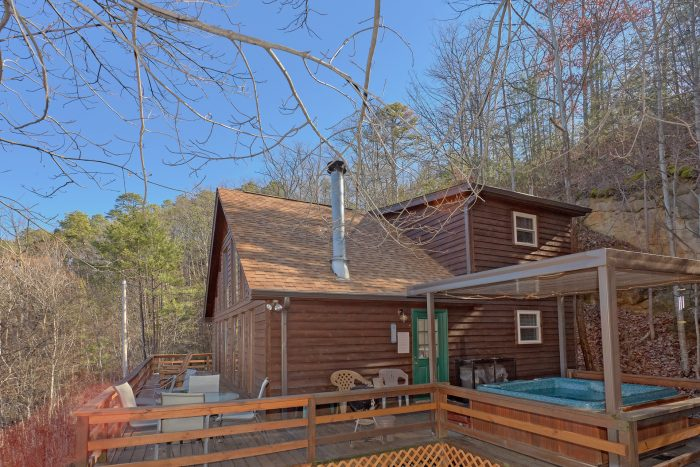 Secluded cabin with Hot Tub and Gazebo - Smokeys Dream Views