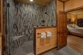 Luxurious master bathroom in 3 bedroom cabin