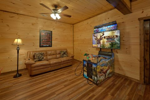 3 bedroom cabin with Buck Hunter Arcade Game - Smoky Bear Lodge