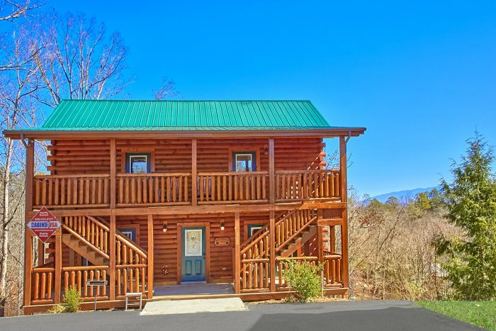 Smoky Mountain Lodge Cabin Rental Photo