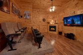 7 Bedroom Cabin with Theater Room and Fireplace