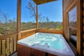 Premium 7 Bedroom Cabin with Hot Tub on deck
