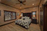 Main Level Master Bedroom in 15 bedroom cabin