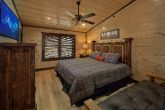 Cabin game room with Pool table, Arcades and TVs