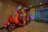 15 bedroom cabin rental with Race Car Games