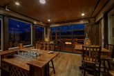 15 Bedroom luxury cabin with bar and fire pits