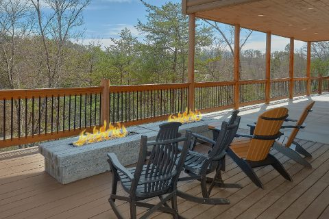 Premium cabin rental with fire pits and views - Smoky Mountain Masterpiece