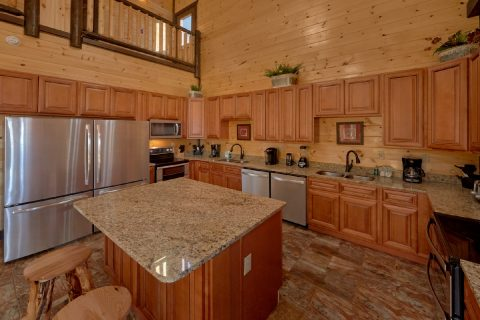 12 bedroom cabin with 2 full size refrigerators - Smoky Mountain Memories