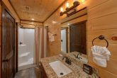 Master bathroom with Luxurious Shower in cabin