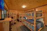 12 Bedroom cabin with Queen size bunk beds
