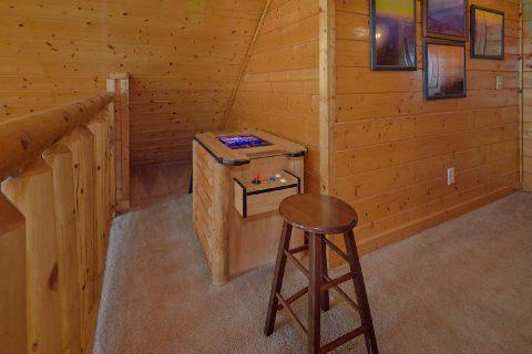 Arcade Game 5 Bedroom Cabin Sleeps 16 - Smoky Mountain Retreat