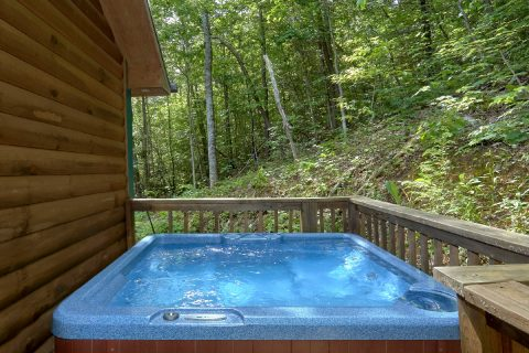 Private Hot Tub 1 Bedroom Honeymoon Cabin - Smoky Mountain Time