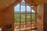 Mountain Views from Living Room of Cabin