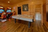 Luxury Cabin with Air Hockey and Race Car games