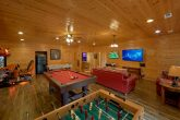 Game Room with Pool Table, Foosball, Golden Tee