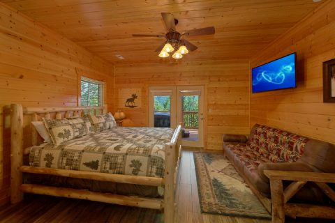 Luxurious 5 bedroom cabin with 4 King Beds - Soaring Ridge Lodge
