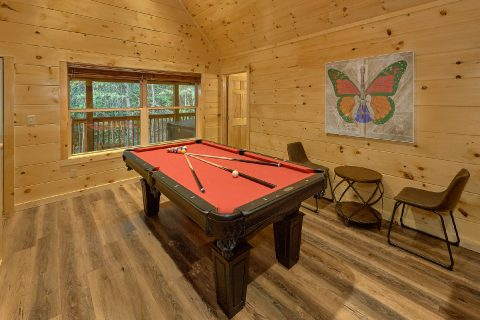4 bedroom cabin with Pool Table in Game Room - Song of the South