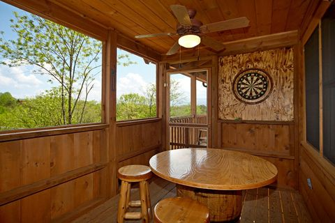 Cabin Featuring a Great Dart Board - Southern Style
