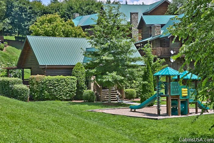 Pigeon Forge Cabin with Access to a Playground - Sparkling Dreams