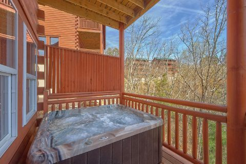 Private Hot Tub 6 Bedroom Cabin Sleeps 20 - Splash Mountain Chalet