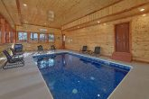 Luxury Cabin with Private Indoor Pool and WiFi
