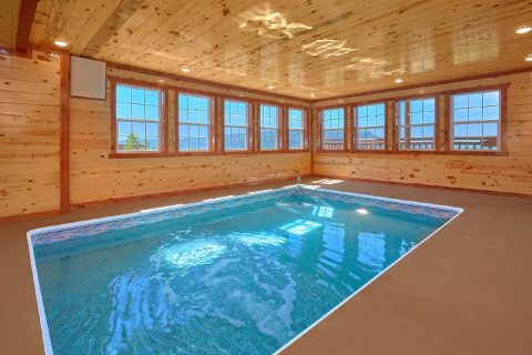 Smoky Mountain Cabin with a Private Indoor Pool - Splashin' With A View