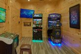 Racing Game in Game Room at 4 bedroom cabin