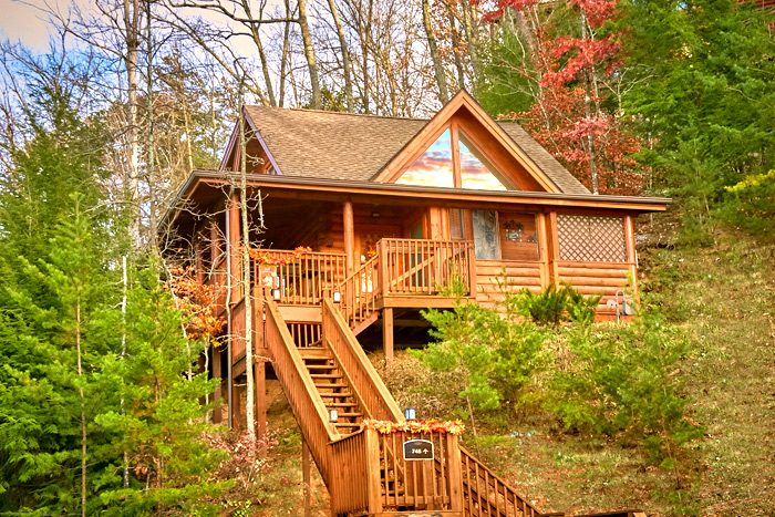 Stairway To Heaven Cabin Rental Photo