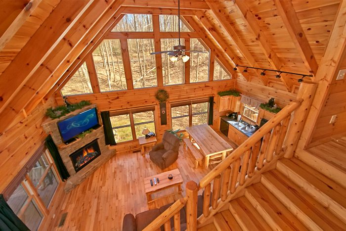Cabin with Wooded View - Starry Night