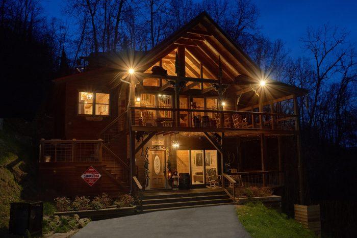 Sugar Bear View Cabin Rental Photo