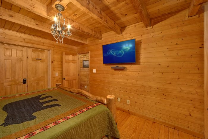3 Bedroom Cabin Sleeps 9 All Flat Screen TV's - Sugar Bear View