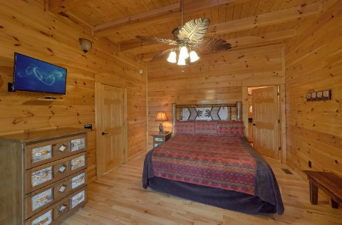 Premium Cabin with King Suite on main floor - Summit View Lodge
