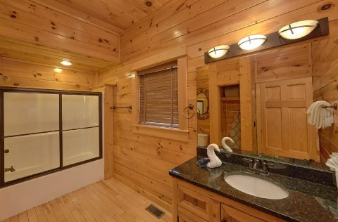 9 bedroom cabin with Private Master bathroom - Summit View Lodge