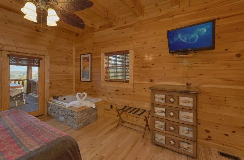Luxury cabin with 2 Master Suites with Jacuzzis - Summit View Lodge
