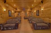 9 Bedroom Cabin with oversize theater room