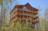 9 bedroom cabin with Views in Summit View Resort