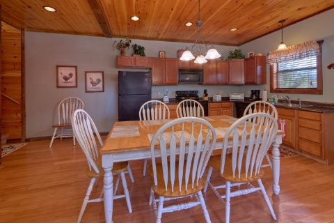 Spacious Stocked Kitchen in Cabin Rental - Sundaze