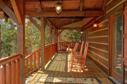 3 Bedroom Cabin with Rocking Chairs - Sweet Mountain Air