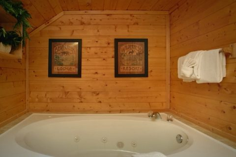 Private Jacuzzi Tub in Master bathroom - Sweet Seclusion