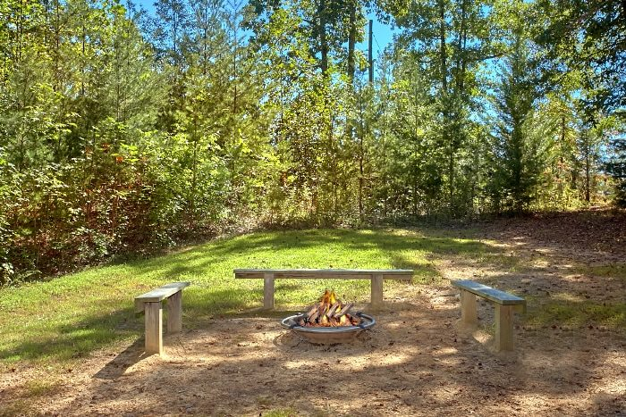 2 Bedroom Cabin with Fire Pit and Gazebo - Sweet Seclusion